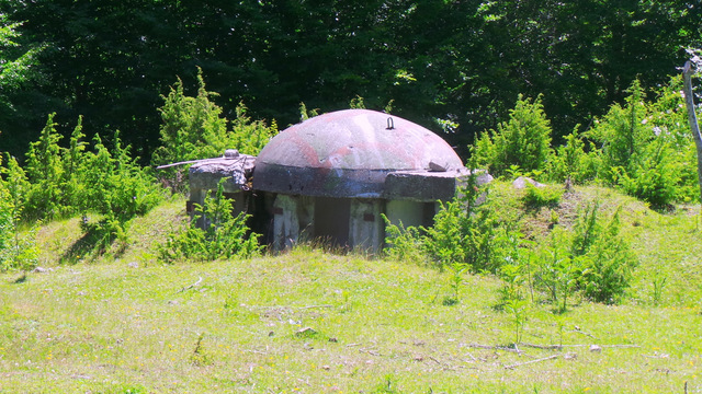Albania bunkrami stoi