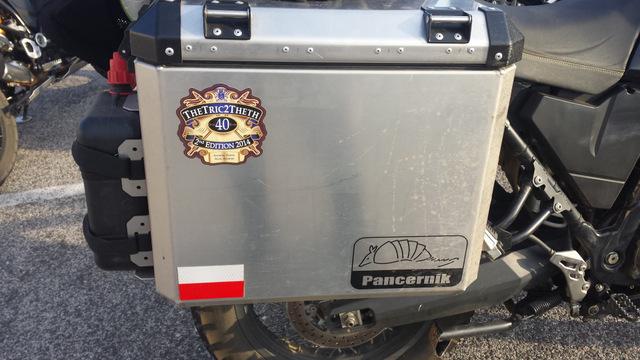 Logo wyprawy na motocyklu