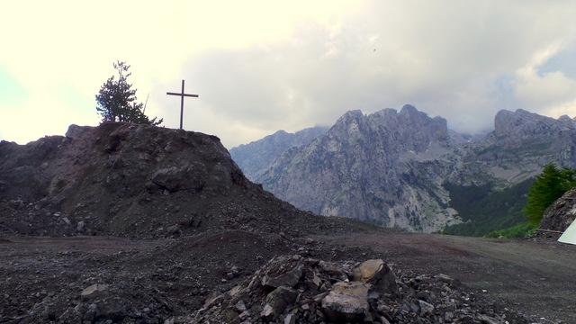 Przełęcz między Boge i Theth