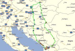 Mapka ogólna Albania 2015