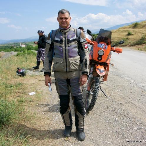 Andrzej Starszy z KTM-em