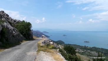 Droga R-15 w kierunku Virpazaru