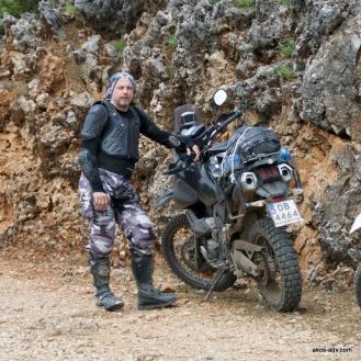 Alek i Jego Yamaha Tenere