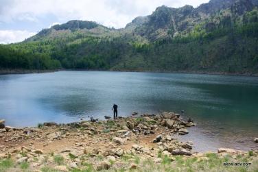 Jezioro Madh - największe w PN Lure