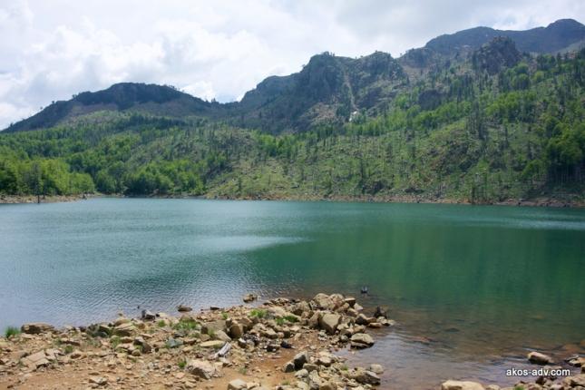 Jezioro Madh w PN Lure.