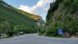 Droga z Mavrova do Debaru,