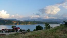 Widok na jezioro koło Debaru