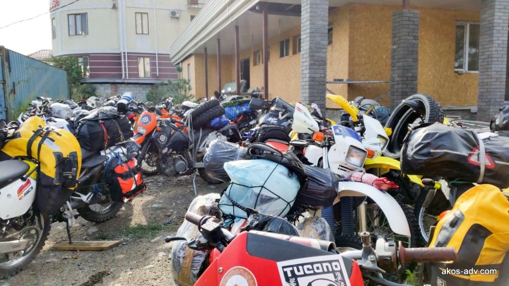 Parking na Gogola 1 - miejsce odbioru motocykli