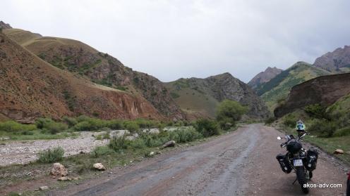 Po ulewie koło Kara-Keche