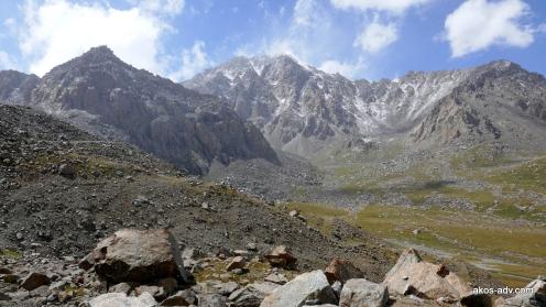 Niedaleko przełęczy Tosor