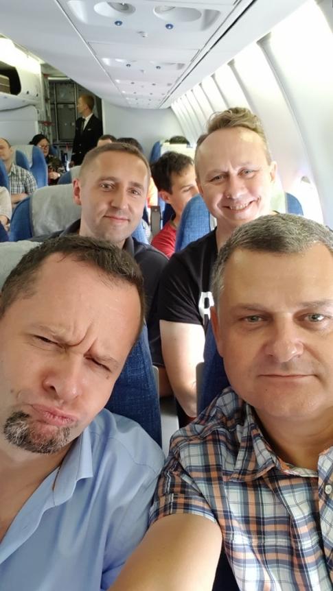 Na pokładzie samolotu Aerofłotu