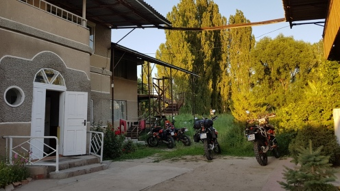 Nasza baza w Tałasie