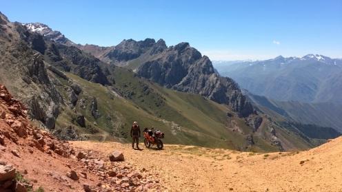 Na przełęczy Terek