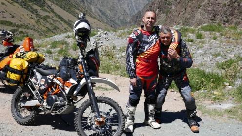 Pierwsza sesja zdjęciowa przed przełęczą Too