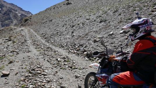 Ostatnie metry przed przełęczą