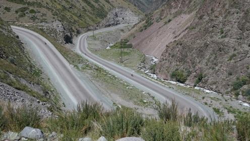 Podjazd na przełęcz Too