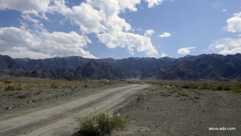 W drodze na przełęcz Kuldża