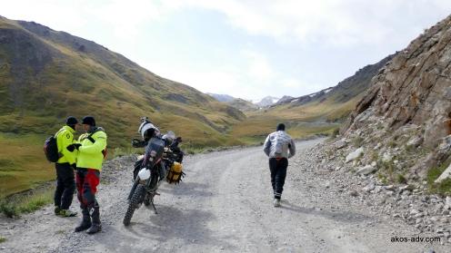 Na przełęczy Kalmak