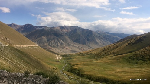 Widok z przełęczy Kalmak
