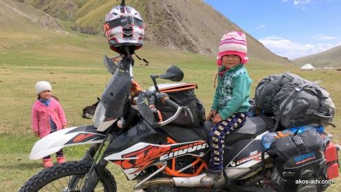 Dzieci spotkane pod przełęczą Kargish