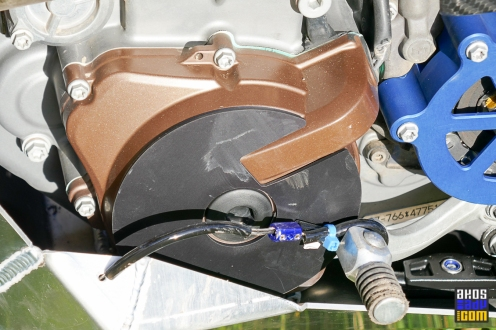 Osłona karteru silnika lewa strona
